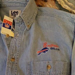 Lee Sport NFL Chambray Denim L/ S Shirt